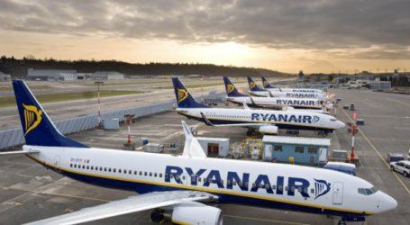 طائرة Ryanair تحلق بين الناضور و داسلدورف.