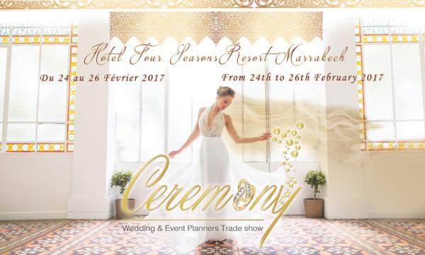 معرض Ceremony بمراكش: أول معرض دولي لحفلات الزواج