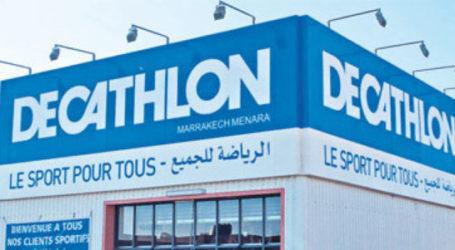 افتتاح جديد لDecathlon، و هذه هي المدينة.