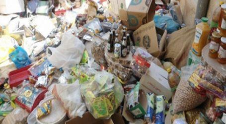حجز 154 طن من المواد الغذائية الغير الصالحة للاستهلاك في شهر رمضان