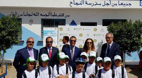 تنظم شركة فيفو إنرجي المغرب الدورة الخامسة عشر لعملية توزيع الدراجات الهوائية والحقائب المدرسية على الأطفال المعوزين