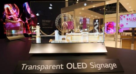 إل جي تحدث ثورة في حلول العرض الديناميكي مع شاشة OLED الشفافة وأفضل حائط للفيديو في العالم