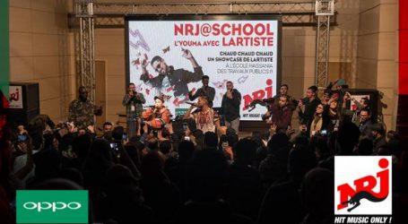 أوبو  ترعى النسخة  الأولى من مسابقة NRJ@school في المغرب