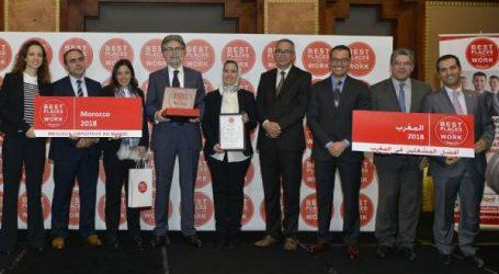 """شركة فيفو إنرجي المغرب تحرز على جائزة """"أفضل مشغل"""" لسنة 2018"""