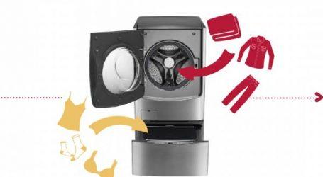 """إل جي تحدث ثورة في عالم آلات الغسيل بفضل الآلة الجديدة """"Twin Wash"""""""