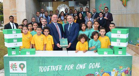 لجنة ترشيح المغرب لاحتضان كأس العالم لكرة القدم 2026 تقدم ملف الترشيح المغربي