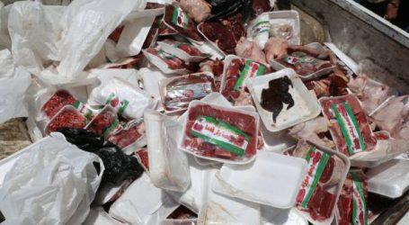 إتلاف 860 طن من المنتجات الغذائية غير الصالحة للاستهلاك في 3 أشهر