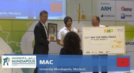 المغرب على منصة تتويج كأس NXP  لمنطقة أوروبا والشرق الأوسط وإفريقيا