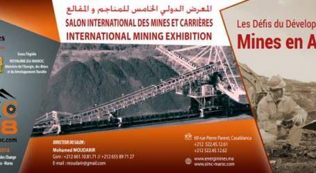 الدار البيضاء تحتضن المعرض الدولي الخامس للمناجم والمقالع