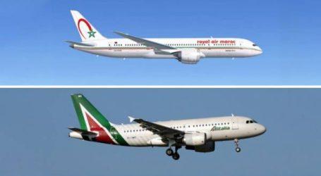 """اتفاقية بين """"لارام"""" و""""أليطاليا"""" لإعطاء دفعة جديدة لتدفقات وتوافد الركاب ما بين البلدين"""