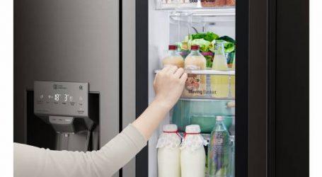 إل جي تكشف عن آخر ابتكاراتها : الثلاجة الجديدة متعددة الأبواب INSTAVIEW