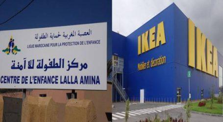 إيكیا توقع اتفاقیة شراكة مع العصبة المغربیة لحماية الطفولة