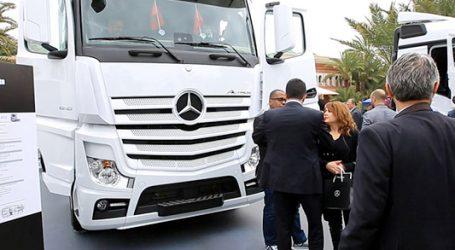 مرسيدس-بنز تراكس المغرب تقدم شاحنة أكتروس الجديدة