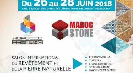 المعرض الدولي للتلبيس والحجر الطبيعي يفتح أبوابه بالدار البيضاء