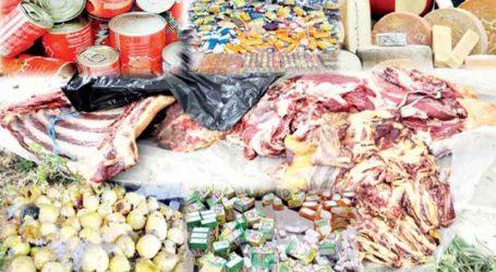 إتلاف 93 طن من المواد الغذائية خلال النصف الأول من شهر رمضان