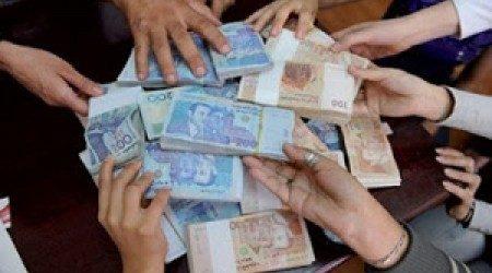 ودائع المغاربة بالأبناك فاقت 452 مليار درهم