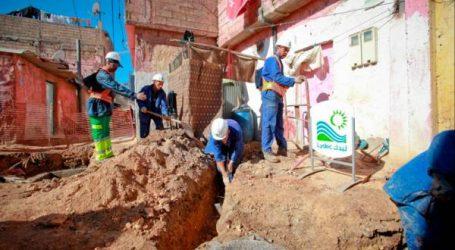 الدار البيضاء: ليدك تربط الدواوير ناقصة التجهيز بشبكات الماء والتطهير