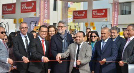 """فيفو إنيرجي المغرب تفتتح المحطة الجديدة شال """" حديقة بوسكورة """""""