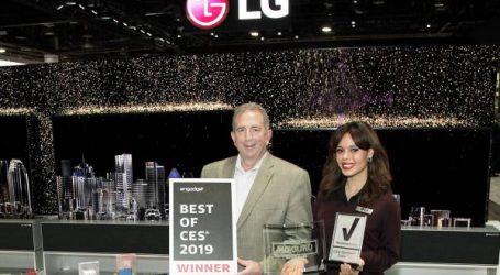 إل جي تحصد أكثر من 140 جائزة في مختلف الفئات بمعرض الإلكترونيات الاستهلاكية 2019
