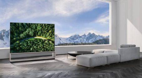 إل جي تعلن طرح أول جهاز تلفاز لها في العالم بتقنية 8K OLED