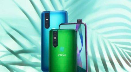 انفينيكس تطرح أول هاتف ذكي مزود بكاميرا سيلفي منبثقة بدقة  40 ميغابكسل