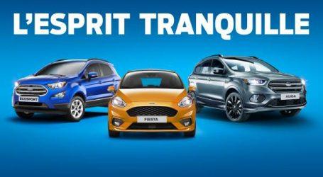 """تطلق فورد عرضًا حصريًا """"Esprit Tranquille"""" على مجموعة كاملة من السيارات الخاصة."""